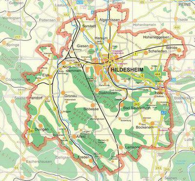 Der Landkreis Hildesheim