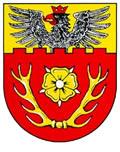 Das Wappen des Landkreises Hildesheim
